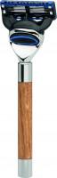 "Rasoir |Gillette® Fusion™| Bois de chêne ""Premium Design Berlin"""